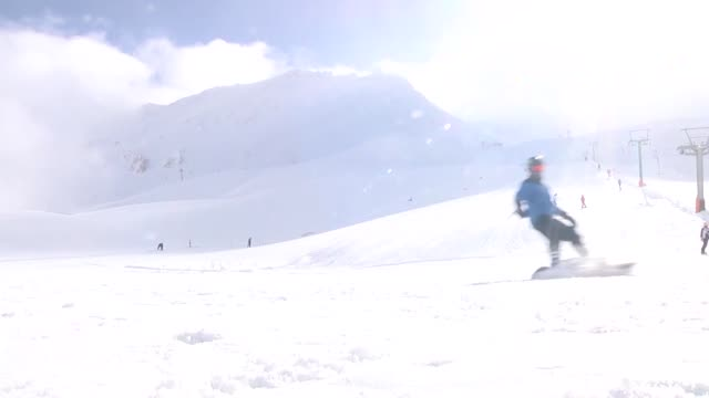 Davraz Ski Resort a center of winter tourism in Turkey's western Mediterranean province of Isparta offers a mesmerizing skiing experience with a...