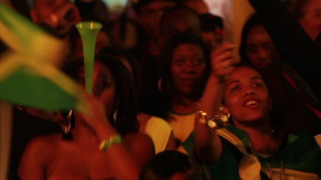 100m jamaica house reactions at getty images 2012 olympics coverage london england united kingdom 8/5/12 getty images 2012 olympics coverage at... - emma brumpton stock videos & royalty-free footage