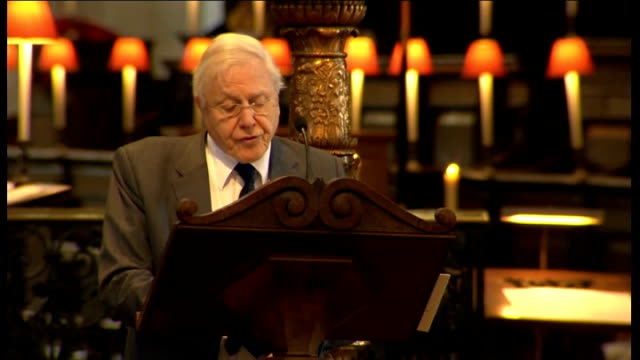 100th anniversary of captain scott expedition to south pole st paul's memorial service int sir david attenborough reading extract from captain... - 100th anniversary stock videos & royalty-free footage