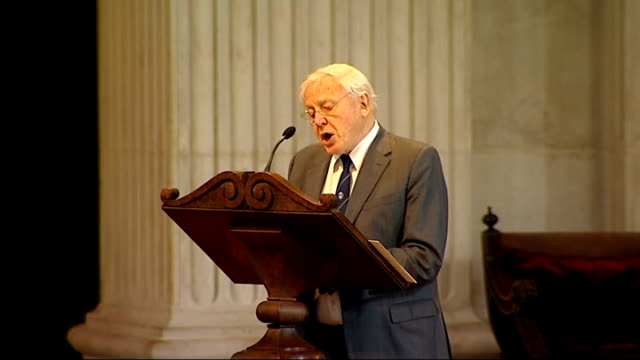 100th anniversary of captain scott expedition to south pole st paul's memorial service sir david attenborough reading extract from captain scott's... - 100th anniversary stock videos & royalty-free footage