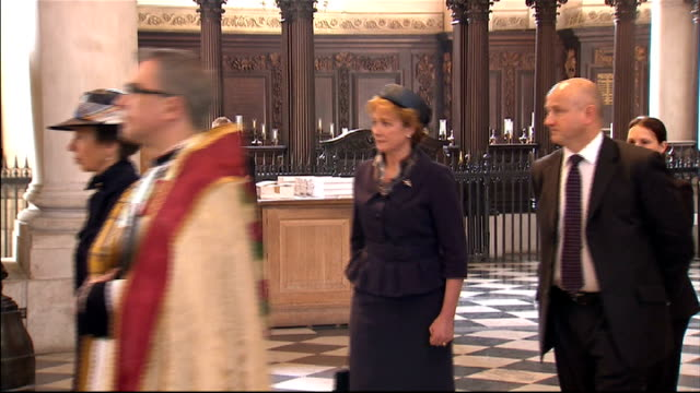 100th anniversary of captain scott expedition to south pole st paul's memorial service readings england london st pauls' cathedral int **music heard... - 100th anniversary stock videos & royalty-free footage