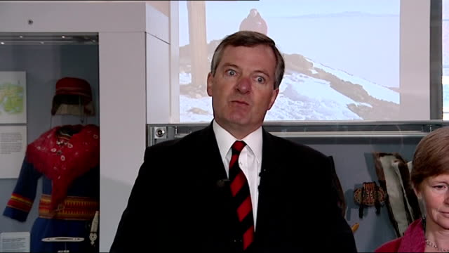 100th anniversary of expedition to the south pole by explorer captain scott interviews england cambridge int prof julian dowdeswell director of the... - 100th anniversary stock videos & royalty-free footage