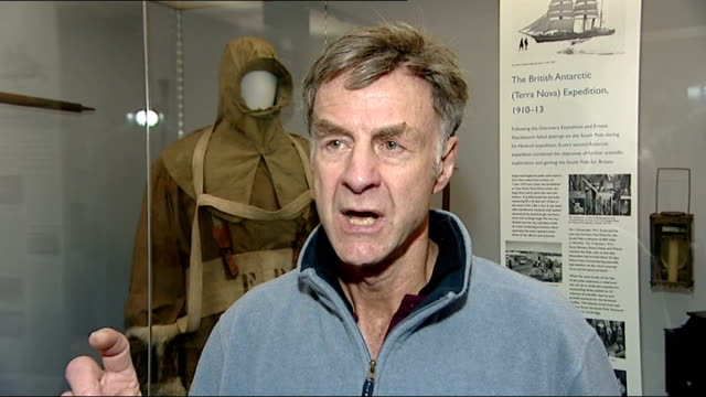 100th anniversary of expedition to the south pole by explorer captain scott interviews sir ranulph fiennes interview sot talks of impact of scott... - 100th anniversary stock videos & royalty-free footage