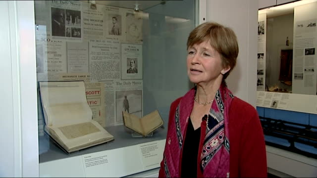 100th anniversary of expedition to the south pole by explorer captain scott interviews dafila scott interview sot talks of expedition legacy how... - 100th anniversary stock videos & royalty-free footage