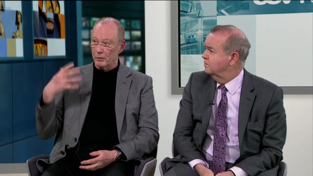100th anniversary of first world war satirical newspaper 'the wipers times'; england: london: gir: int nick roberts and ian hislop live studio... - ian hislop stock videos & royalty-free footage