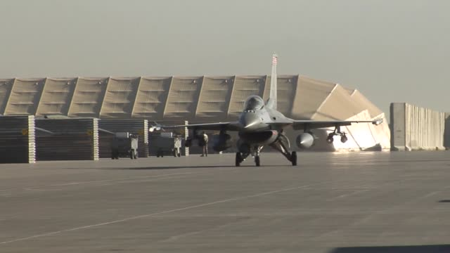 100th EFS F-16 Fighting Falcon, step, prep, take-off  100 EFS is