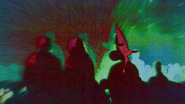 hd 1080 i 抽象的なペイガン総合 - 魔術師点の映像素材/bロール