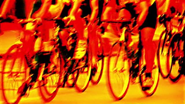 hd 1080 i 自転車レース 19 - 競争点の映像素材/bロール