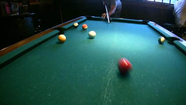 hd 1080i billiards 8 - pool table stock videos & royalty-free footage