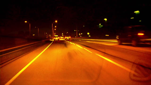 HD 1080i Driving at Night 3