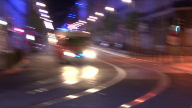 hd : 1080i emergency / marseille firefighters - frankrike bildbanksvideor och videomaterial från bakom kulisserna