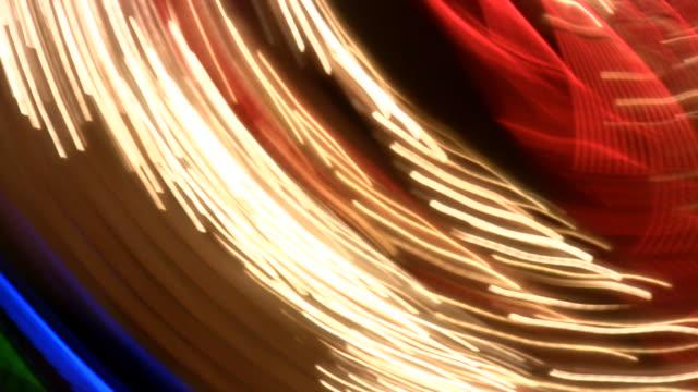 vídeos de stock e filmes b-roll de hd 1080 i las vegas luzes de néon oscilantes 41 - tubo