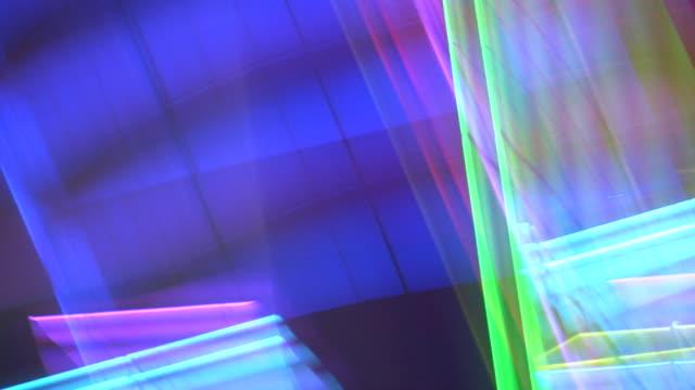 HD 1080i Las Vegas Neon Lights flickering 58 pt1