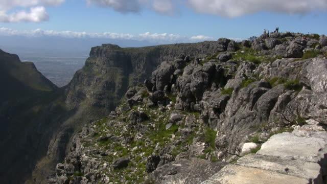 vídeos y material grabado en eventos de stock de hd 1080 i pan de la montaña de la mesa a capetown sudáfrica - península