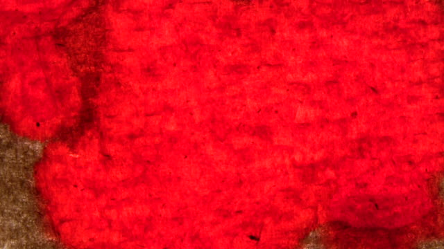 hd 1080i red soaked paper - human blood stock videos and b-roll footage