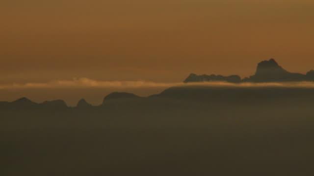 1080p: atmospheric dusk time-lapses - fog stock videos & royalty-free footage
