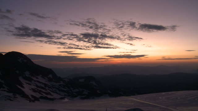 1080p: glacier at dawn time-lapse - dachstein mountains stock videos and b-roll footage