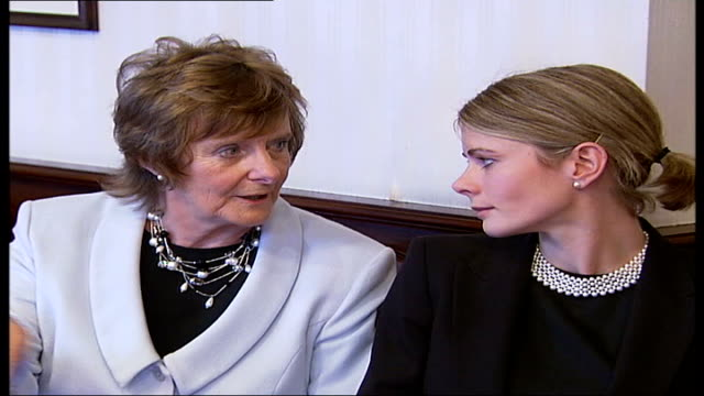125th anniversary of london bride dowry porter chatting to barbara jelley - porter stock videos & royalty-free footage