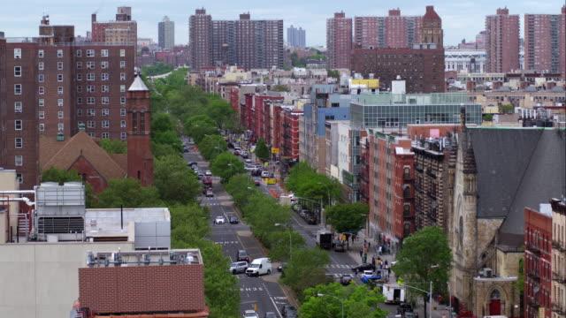 125th street in harlem - harlem stock videos & royalty-free footage