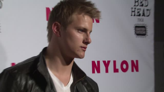 NYLON 13th Anniversary Issue Celebration West Hollywood CA United States 4/10/12