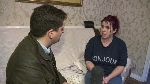13yearold girl praised after protecting nephew from a machete attack northern ireland county fermanagh int elizabeth joyce interview as recounting... - protection stock videos & royalty-free footage