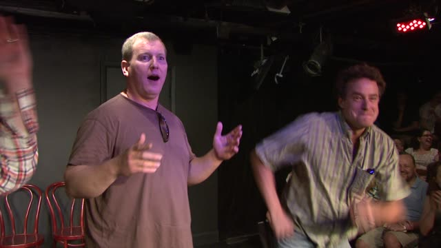 14th annual del close improv comedy marathon press conference at upright citizens brigade theatre on june 29 2012 in new york new york - brigade stock videos & royalty-free footage