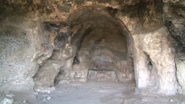 year-old byzantine church was found during excavation in turkey's northwestern edirne province on october 08, 2018. professor engin beksac from... - good condition stock videos & royalty-free footage