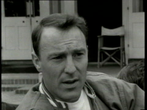 jul-1966 b/w jimmy greaves being interviewed / united kingdom / audio - one mid adult man only stock videos & royalty-free footage