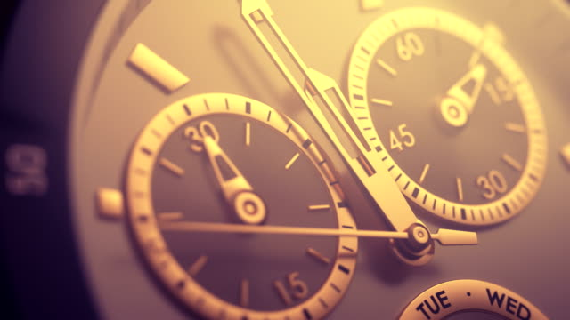 15-second watch countdown - 12 o'clock stock videos and b-roll footage
