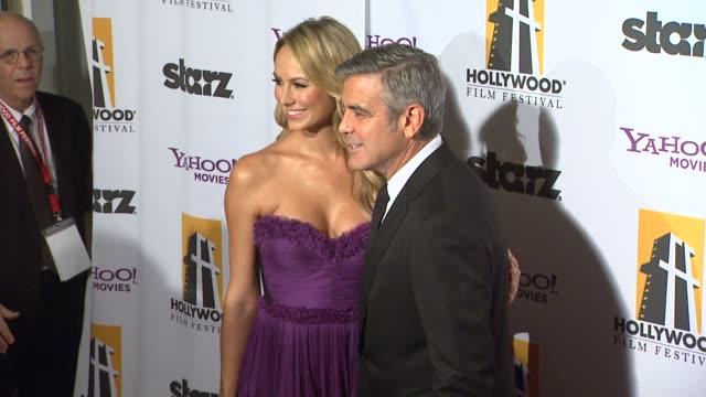 15th annual hollywood film awards gala, los angeles, ca, united states, 10/24/11 - グレン・クローズ点の映像素材/bロール
