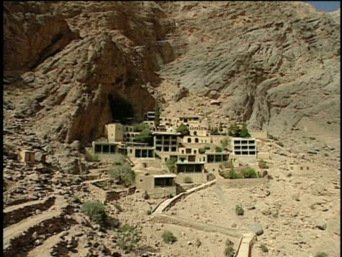 15th jun 2000 ls ws ha temple of pir-e sabz, zoroastrian's worship place / near ardakan, yazd, iran - place of worship stock videos & royalty-free footage