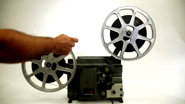 16 mm-filmprojektor - filmpremiere stock-videos und b-roll-filmmaterial