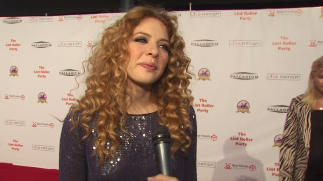 16th annual lint roller party, los angeles, ca, 10/3/09 - rachelle lefevre stock videos & royalty-free footage