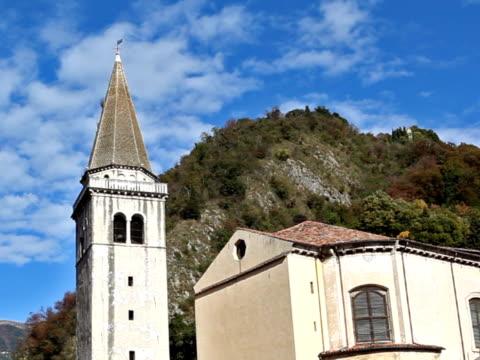 stockvideo's en b-roll-footage met 16th century bell tower - rond de 15e eeuw