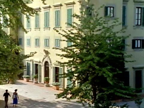 xviº secolo, villa italiana - stile del xvi secolo video stock e b–roll