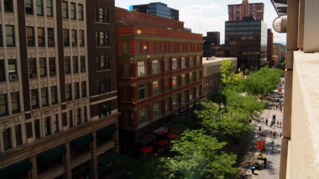 16th street mall denver - denver stock videos and b-roll footage