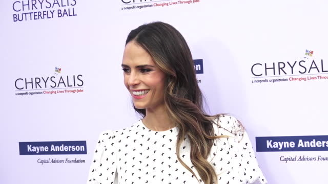 18th annual chrysalis butterfly ball on june 01, 2019 in brentwood, california. - jordana brewster stock videos & royalty-free footage