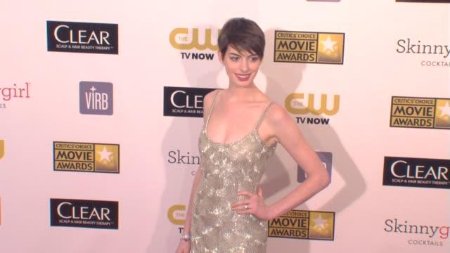 18th Annual Critics' Choice Movie Awards Santa Monica CA United States 1/10/2013