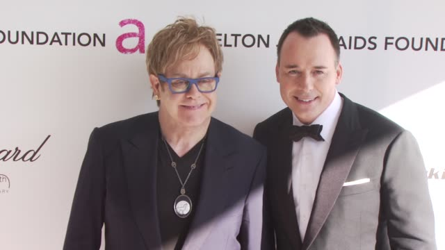 18th Annual Elton John AIDS Foundation Oscar Party West Hollywood CA 3/7/10