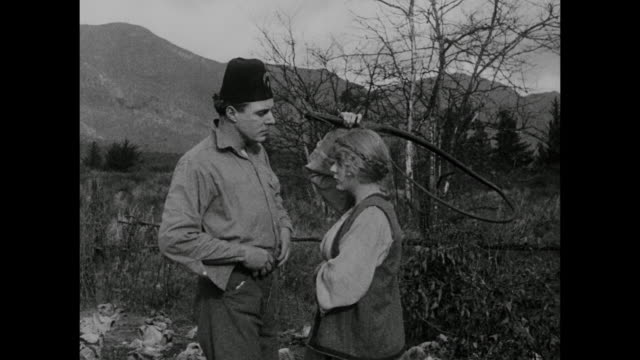 1910s A flirtatious neighbor makes peasant woman (Blanche Sweet) jealous