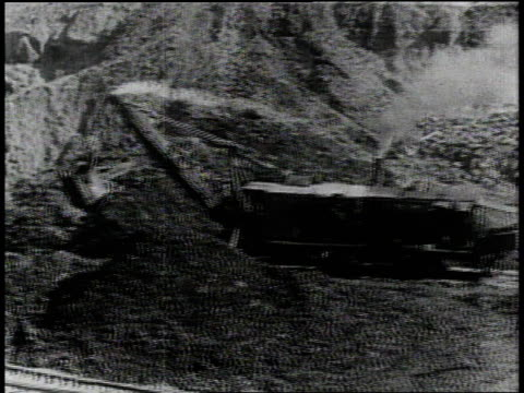 1910s b/w machinery digging the panama canal / panama - panama canal stock videos & royalty-free footage