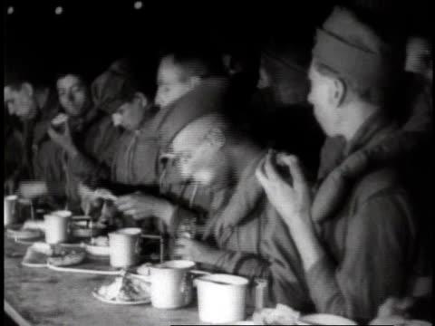 1910s / u.s. navy sailors eating / usa - matros bildbanksvideor och videomaterial från bakom kulisserna