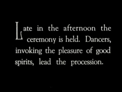 1920s b/w montage samoan wedding ceremony begins with dancing and a procession of chiefs / samoa, south seas - samoa stock videos & royalty-free footage