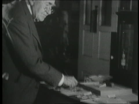 1920s older thomas edison working in laboratory - one senior man only stock videos & royalty-free footage