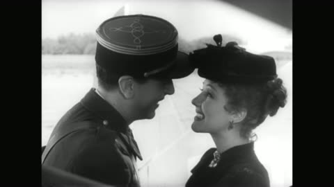 1930s a woman (jean parker) is greeted by a man (reginald gardiner) on her arrival to morocco - 1930 1939 stock videos & royalty-free footage