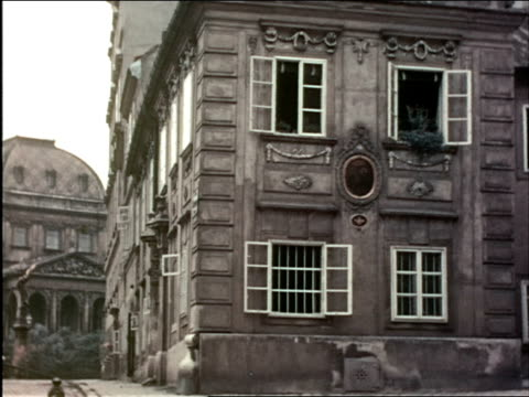 1930s street / vienna austria - 1930 1939 stock videos & royalty-free footage