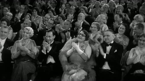 1930s wide shot elegantly dressed audience sitting in theater, smiling and clapping for performance - clapping hands stock videos & royalty-free footage