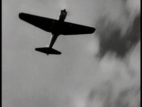 """JAPANESE TROOPS Soldiers watching tank maneuver small river Mitsubishi A6M Zerosen """"Zero"""" """"Zeke"""" fighter aircraft flying over Ha Go Battle tank..."""