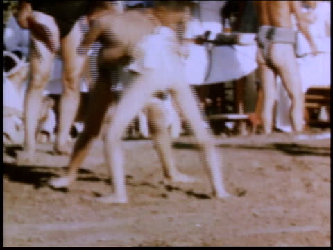 1940s montage young boys practicing judo at alien detention facility / crystal city texas united states - detainee stock videos and b-roll footage