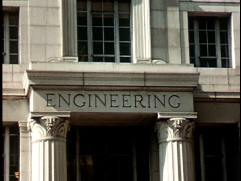 1950s CU, Engineering faculty building at Berkeley University, 1950's, California, USA